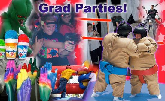 Grad and Post prom party entertainment for hire Michigan